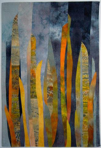 """""""Blätter 2"""" 88 x 130 cm"""