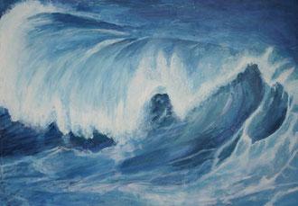 Wo ist der Surfer? 100x70 p