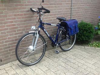 Cyco met ombouwset van Fiets Ombouwcentrum Nederland
