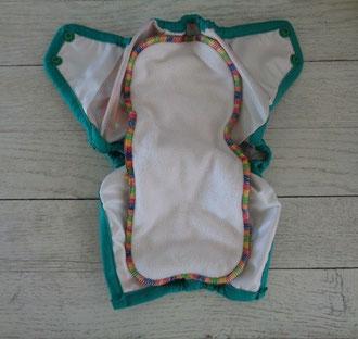 culotte de protection imperméable rumparooz pour couche lavable te2 et insert newborn monpetitou ecomome