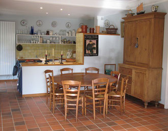 table de la Villa Les Bruyères