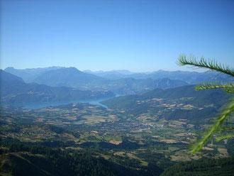 vue lac de serre-ponçon