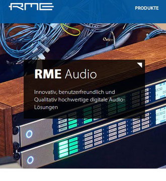 Logo RME Audio