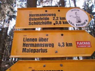 noch 4,3 Km