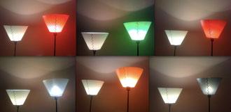 polski design. nowoczesny abażur. w typowy stożkowy kształt wpisany intrygujący motyw grający światłocieniem. doskonała nowoczesna lampa