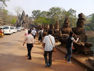 Eingangspforte Angkor, Wat Weltkulturerbe in Kambodscha