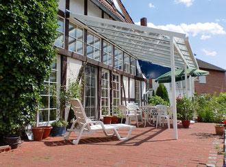 Terrassendächer Wenn draußen Wohnkomfort entsteht