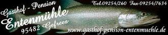 Banner www.gasthof-pension-entenmuehle.de