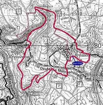 Route Weißer Grund