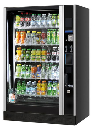 Getränkeautomat Glasfront Vendo G-Drink DV9