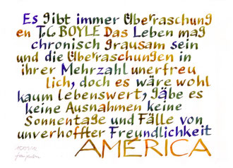 aus T.C. Boyles 'América'