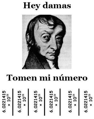 Avogadro busca ligue,pero con ese número y esa cara...