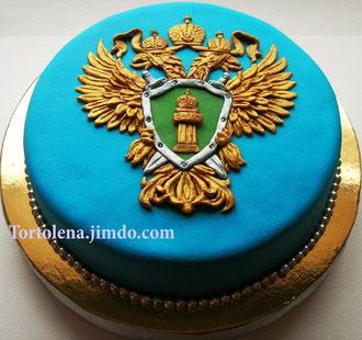 "Торт ""Герб прокуратуры"""
