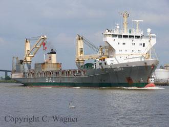 Die Wiebke, das letzte Schiff des Typs 161a auf dem NOK