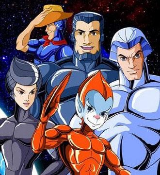 Halcones galacticos dibujos animados