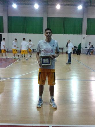 """L'MVP Patrick """"Patrizio"""" Avanzini"""