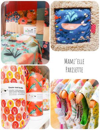 mam'zelle Parisette éco-responsable textile artisans créateur
