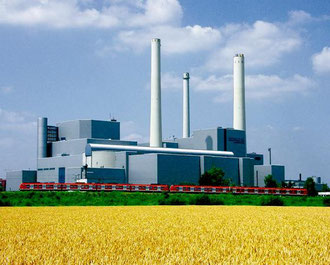 Heizkraftwerk Unterföring - München
