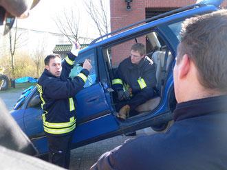 Adam Stevens und Phil Aiken vom Royal Berkshire Rescue Team