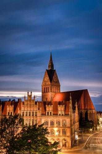 Marktkirche und Altes Rathaus (Copyright Martin Schmidt)