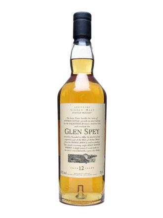 Glen Spey Single Malt 12 Jahre (Flora & Fauna Serie von DIAGEO)