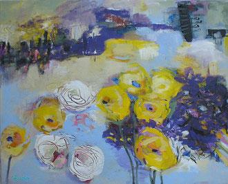 """Havelsommer"", 2011, Acryl auf Leinwand, 40 x 50 cm"