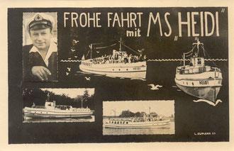 Alte Postkarte von 1964