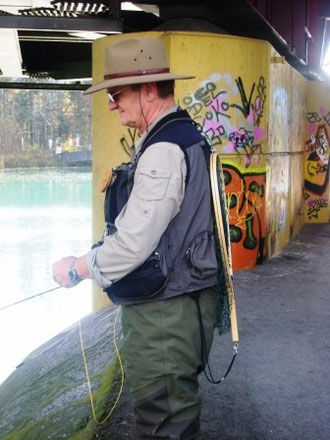 That´s like street flyfishing