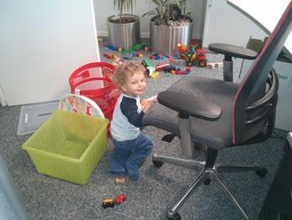 So sieht ein Büro doch viel Freundlicher aus :-)