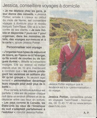 Article paru dans le journal Ouest France le 19/05/12