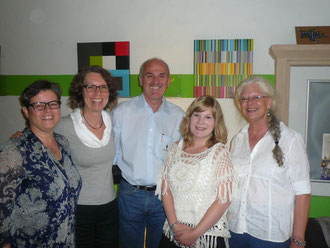 Anemone Heles, Ruth Merein-Gürke, Gereon Kohl, Alena Backes, Bettina Bulitta-Steimer