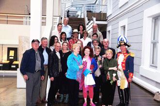 Delegation aus Fort Worth und Mitglieder der Fort Worth Gesellschaft, Vernissage Dommuseum mit Nancy Lamb.     Foto (c): Jane Bass