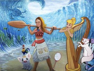 portrait-peinture-chien-animal-boxer