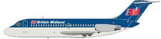Douglas DC-9Srs14 der British Midland/Courtesy: MD-80.com