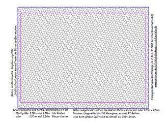 Rand kann auch angemalt werden. Soll für Kantenlänge 2,4cm sein.