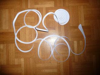 Spirale in A3 Größe