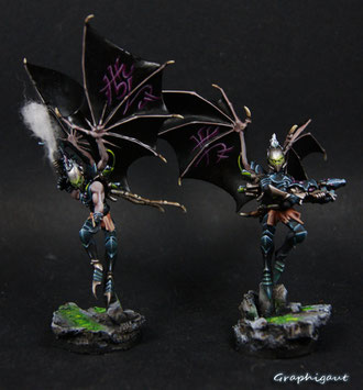 Plague Dark Eldar, games workshop, Graphigaut