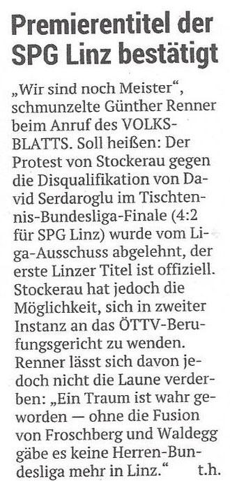 06.06.2019 Volksblatt