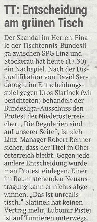 04.06.2019 Volksblatt