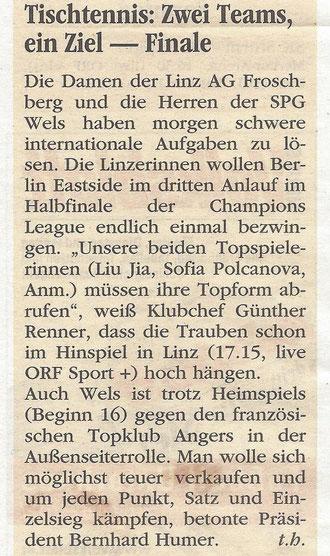 12.03.2017 Volksblatt