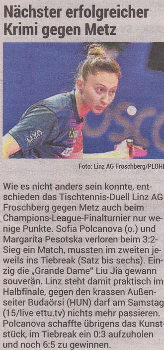 5.12.2020 Volksblatt