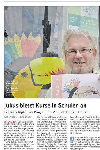 Leine-Nachrichten 01.09.2011