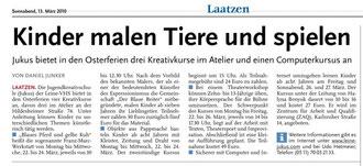 HAZ / Leine-Nachrichten v. 13.03.2010