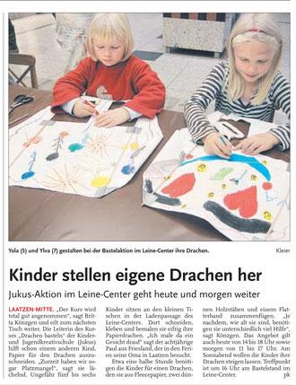 Leine-Nachrichten 15.10.2010