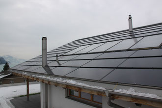 Solaranalge Thermisch, 12 m2 / Photovoltaikanlage, 90 m2, 15.525 kWp