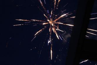 ...und am Ende des Festes ein traumhaftes Feuerwerk!