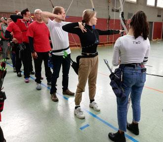 Esslinger Bogenschützen bei der Kreismeisterschaft in Plochingen