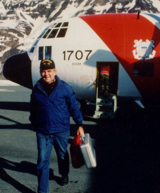 Arriving Valdez, Alaska, NOAA Manager, Exxon Valdez Oil Spill and Natural Resource Damage Assessment, 26 March 1989