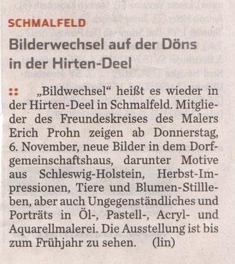 Hamburger Abendblatt 05.11.2014