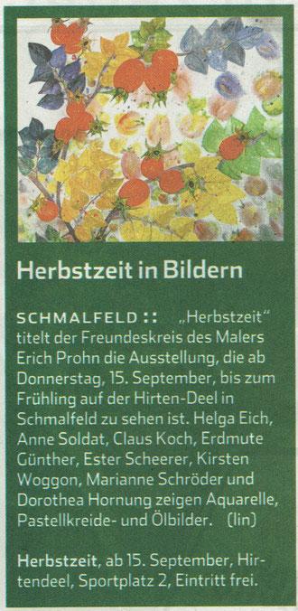 Hamburger Abendblatt 14.09.2016